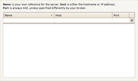 Custom Servers